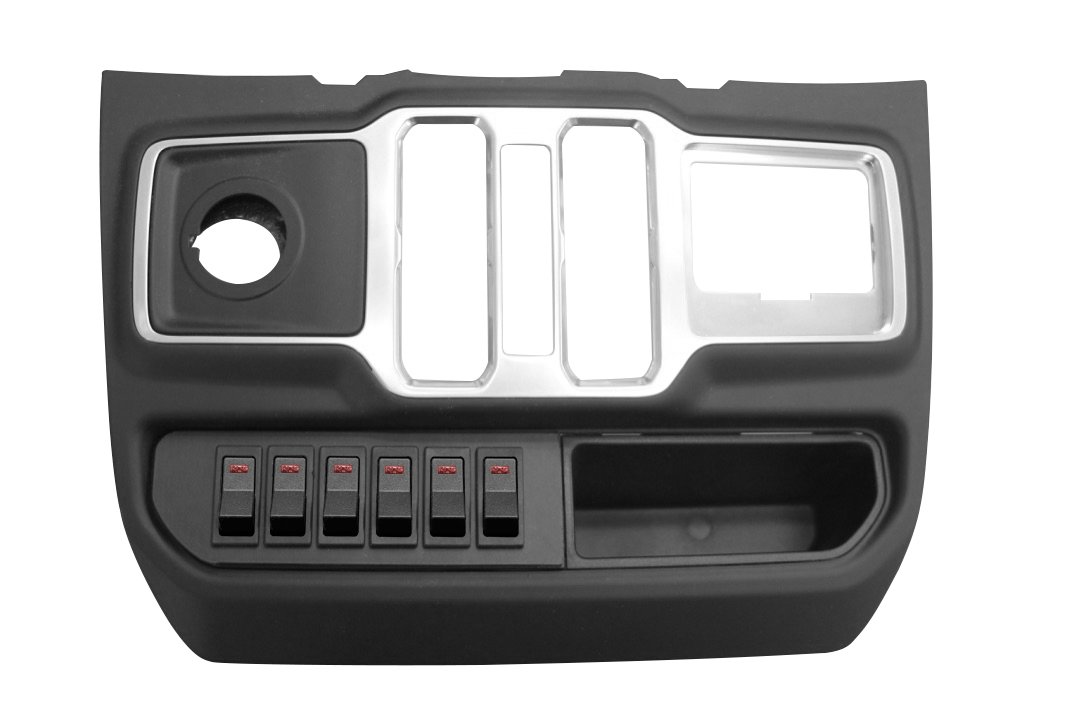 Jeep S-Tech 6 Switch System For Jl Left Side With Micro Red Led | 2018-2019 Wrangler JL & JLU,