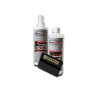 Image of Phoenix Graphix, Conditioner Protectant Gel & 8Oz. Spray Kit