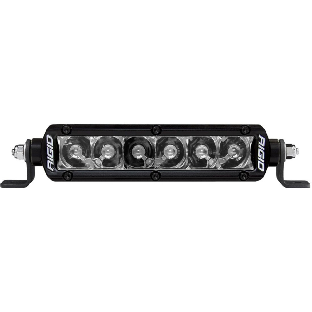 Rigid Industries 6 Sr-Series Midnight Optics Led Light Bar, Spot Pattern, Exterior Car Parts,
