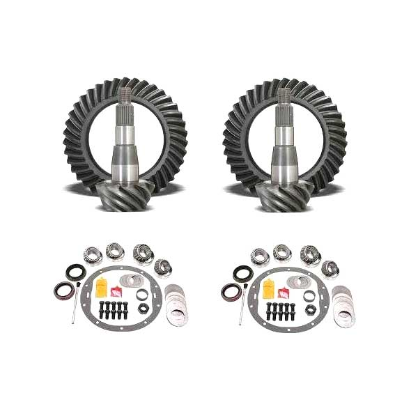 Image of Usa Standard Gear & Install Kit Package For Jeep Jk Rubicon, 4.56 Ratio