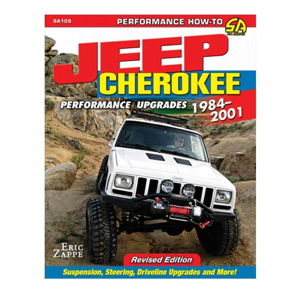 Image of Cartech Manual - Jeep Cherokee Xj Performance Upgrades - Revised Edition