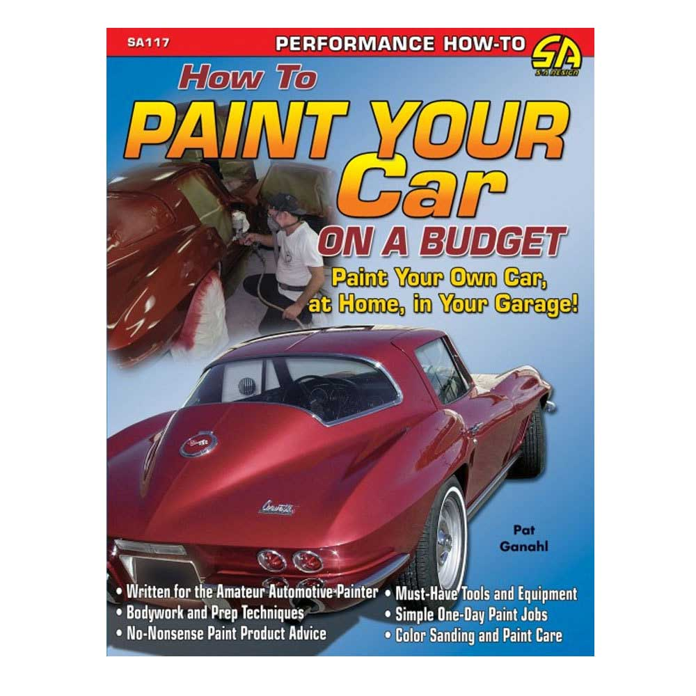 Image of Cartech Manual - How To Paint Your Car On A Budget