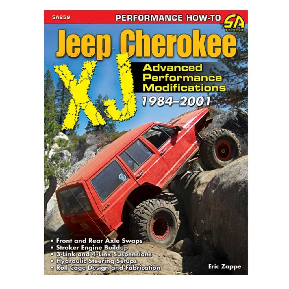 Image of Cartech Manual - Jeep Cherokee Xj Advanced Performance Modifications