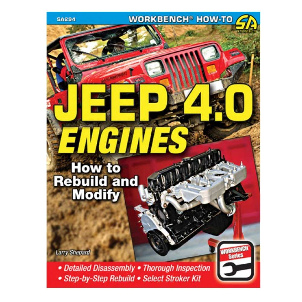 Image of Cartech Manual - Jeep 4.0 Engines: How To Rebuild And Modify