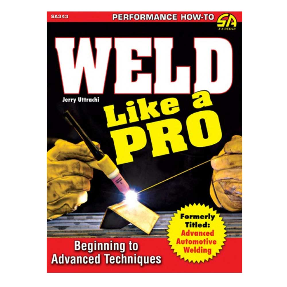 Fits: Universal Description: This Cartech Weld Like A Pro Manual Discusses How To Perform Basic Welding Procedures With Steel And Cast Iron. It Also Reveals Advanced Welding Techniques And The Use Of Aluminum, Titanium, Magnesium, Stainless Steel And Other Specialty Materials. Projects And Techniques Focus On Automotive Applications But They Can Also Be Used For Welding A Bicycle Frame, A Steel Grill And Other Everyday Fixes. Step-By-Step Instruction Gives You The Necessary Information To Tackle And Complete Almost Any Welding Job. Product Details: Pages: 144 Size: 8.5 X 11 (Inches) Format: Paperback Illustrations: 428 Color Publisher: Cartech Isbn: 9781613252215 Parts Included: (1) Cartech Manual - Weld Like A Pro Manual: Beginning To Adva