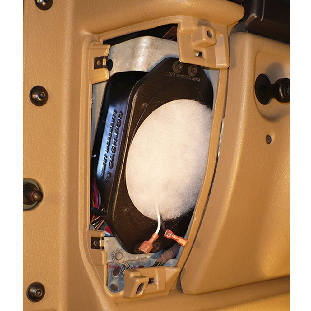 """Image of Select Increments Dash Pod 5.25"""" Speaker Enclosure Kit Without Speakers"""