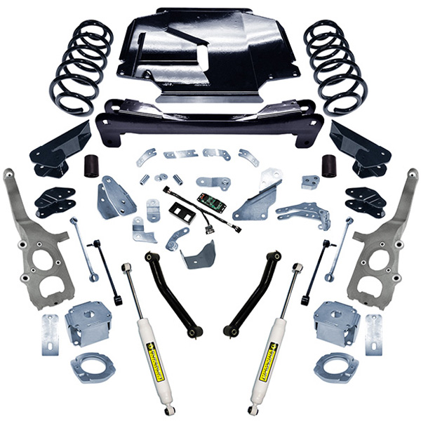 "Image of Superlift 4"" Suspension Lift Kit With Rear Shocks"