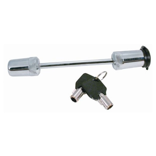"""Image of Trimax Deluxe 3 1/2"""" Span Chrome Coupler Lock"""