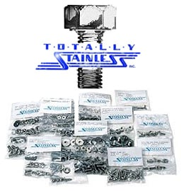 Image of Totally Stainless Body Bolt Kit - Button Head 708 Pieces