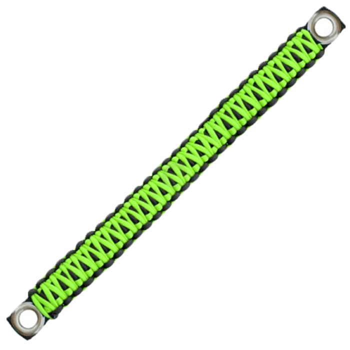 Image of Surprise Straps Center Sound Bar Strap - Gecko Paracord And Solid Black Paracord
