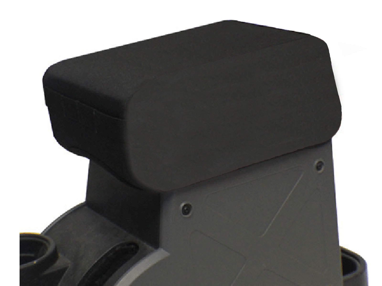 """Image of Bartact 2"""" Raised Padded Center Console Cover With Pals Webbing For Molle Attachments - Black"""