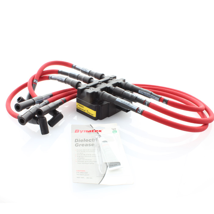 Jeep Performance Distributors Firepower Ignition Kit 3.8L, Red | 2007-2011 Wrangler JK & Wrangler
