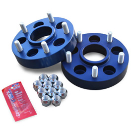 """Image of Spidertrax 1.25"""" Wheel Adapters, 5X4.5"""" To 5X5"""" Bolt Pattern, Aluminum - Pair"""