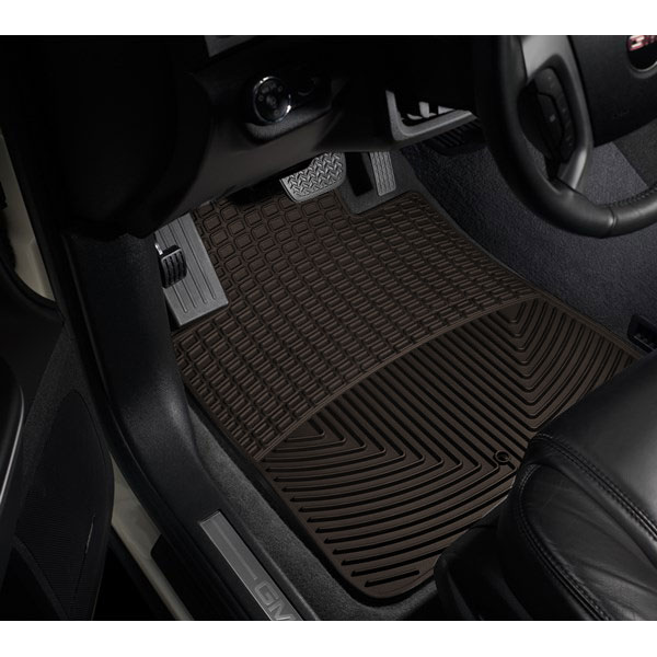 Image of Weathertech All-Weather Front Floor Mats, Cocoa - Pair