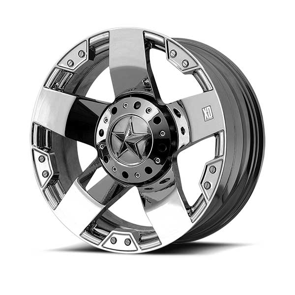 "Image of Kmc Xd775 Rockstar Wheel - 22""x9.5"" - Bolt Pattern 6X5.3"" & 6X5.5""- Backspacing 6.75"" - Offset 38 - Chrome"