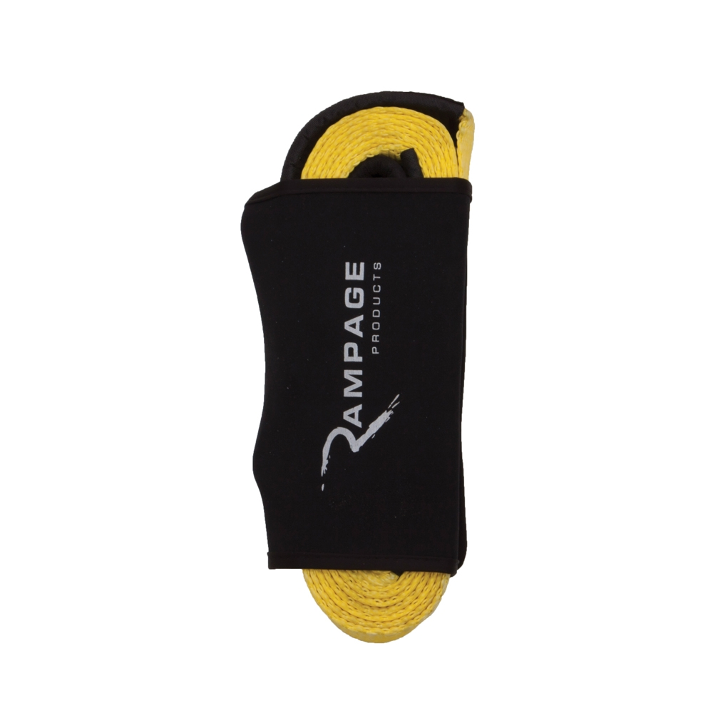 "Image of Rampage 2""x 20' Recovery Trail Strap - Yellow"
