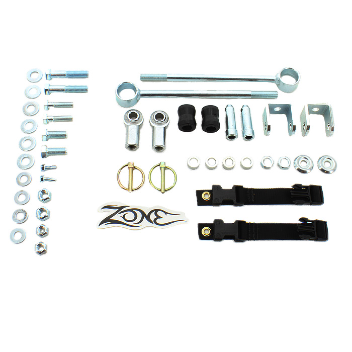 Zone Offroad Front Sway Bar Disconnects - Pair