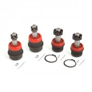 Alloy USA Heavy Duty Front Ball Joint Kit, Upper & Lower (4-Piece Set)