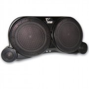 VDP 4 Speaker Center Sound Wedge without Speakers - Black