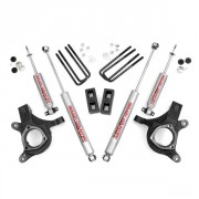 """Rough Country 3"""" Suspension Lift Kit with Premium N2.0 Series Shocks"""
