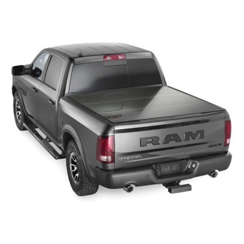 Weathertech Alloycover Hard Tri Fold Pickup Truck Bed Cover Black Best Prices Reviews At Morris 4x4
