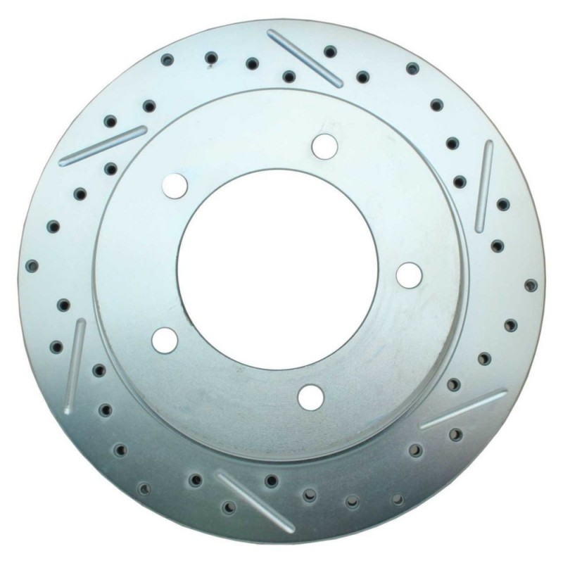 NEW MINTEX FRONT//REAR VENTED DRILLED BRAKE DISCS SET PAIR MDC2214