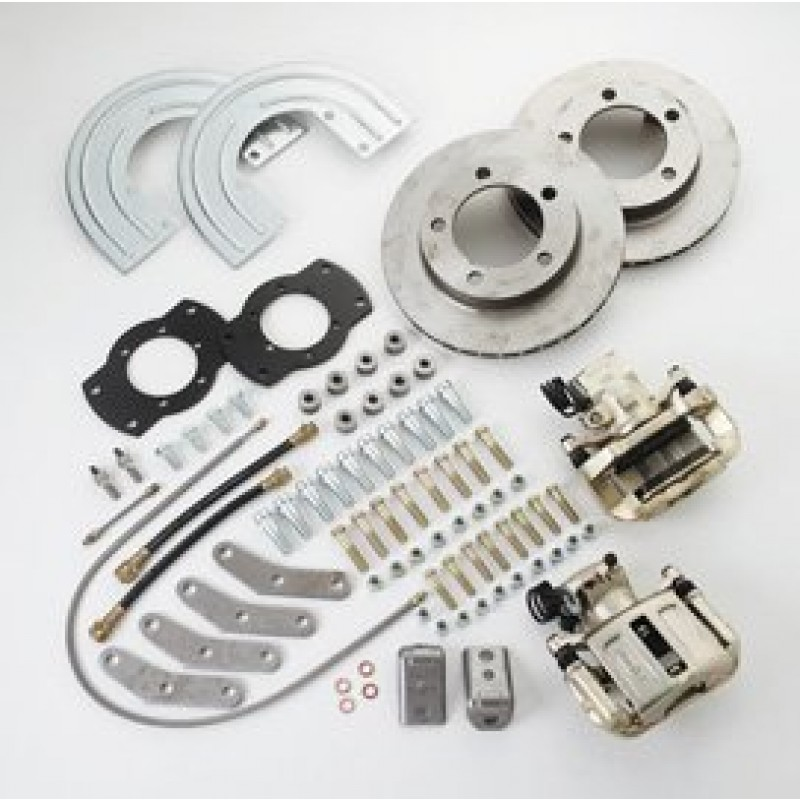 Ssbc Rear Disc Brake Kit Single Piston With 11 25 Rotor Amc 20 Axles With Warn Full Floating Hub Best Prices Reviews At Morris 4x4