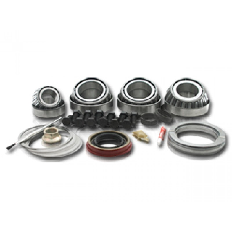 American Shifter 426910 Shifter AOD 23 Trim Kit Dipstick Black Push Button Gry Boot Ringed Knob for DC7A5