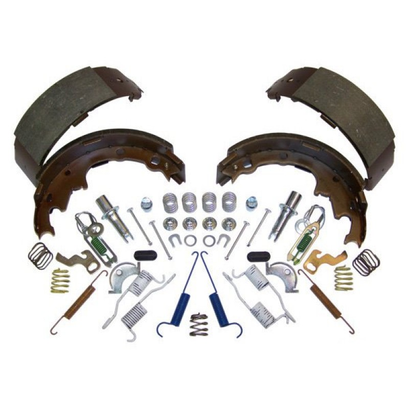 BRAKE DRUM HARDWARE MASTER FITTING KIT JEEP CHEROKEE XJ WRANGLER YJ TJ