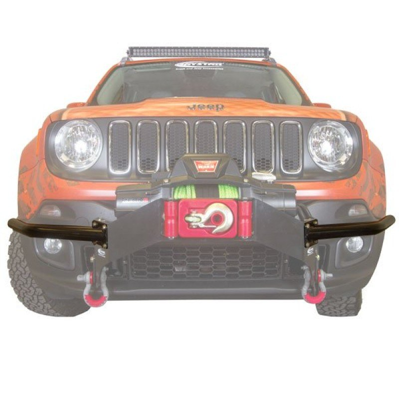 KJ50001BK fits 2015 to 2017 2//4WD Daystar Jeep Renegade Winch Bumper Guards Made in America