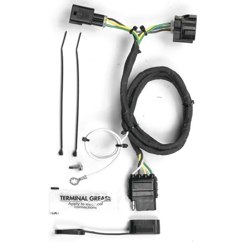 Hopkins Towing Solutions Trailer Wiring Harness Kit on towing stone guards, dodge ignition wire harness, car towing harness, towing light harness, towing wiring connectors, towing accessories, towing cable, ford focus trailer harness,
