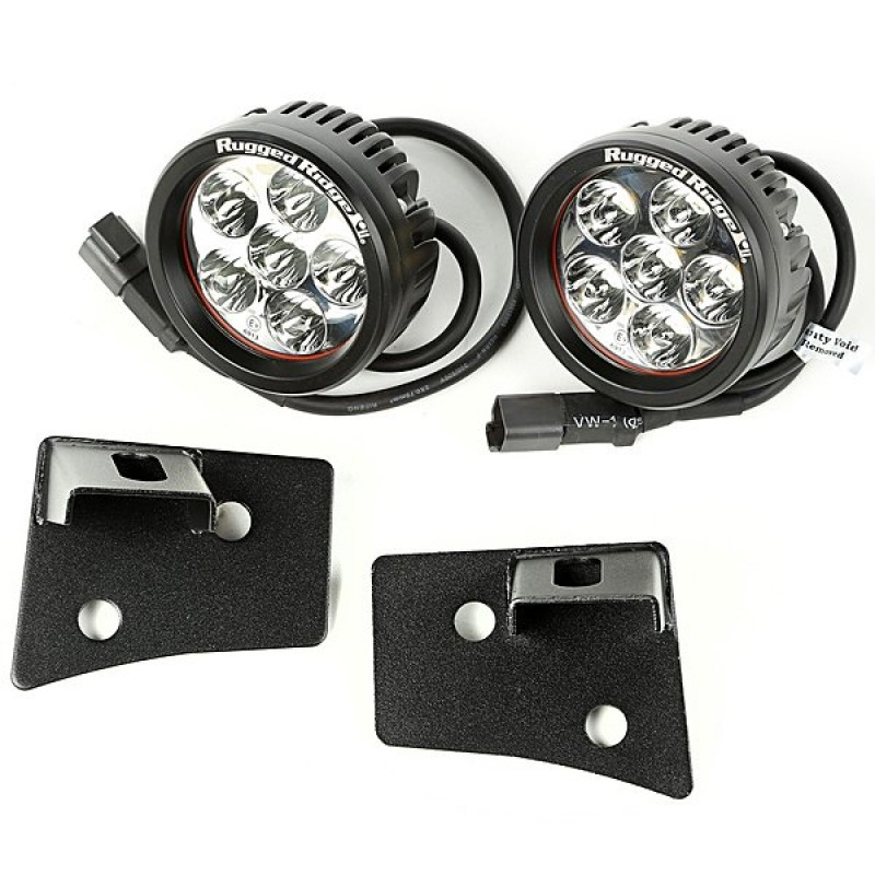 Rugged Ridge 3 5 Round Led Lights With