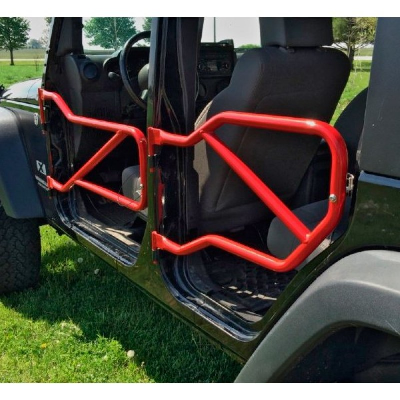 Steinjager Front And Rear Tube Doors Red Baron Set Of 4 Best Prices Reviews At Morris 4x4