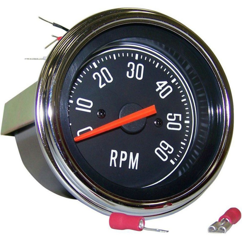 chevy 350 tach hook up