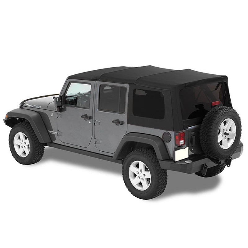 Mopar NEW 1997-2018 Jeep Wrangler JK BLACK Hardtop Touch Up Paint