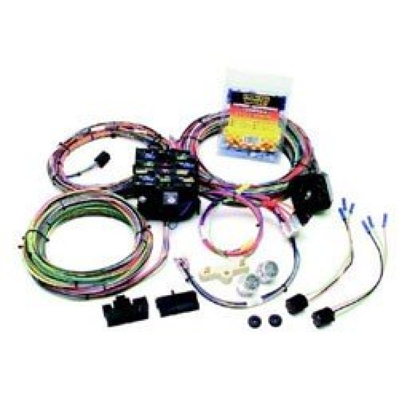 Painless Performance 22-Circuit Customizable Wiring Harness - Complete on