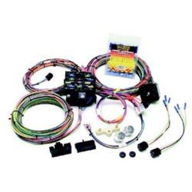 jeep wiring | painless performance 22-circuit wiring harness kit | 10106  morris 4x4 center