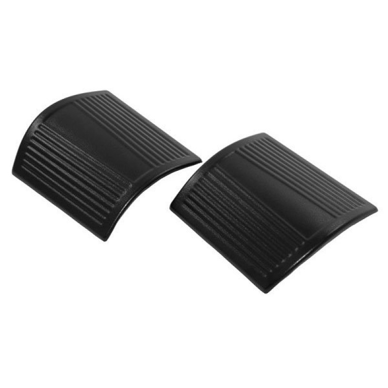 Pair Black Cowl Body Armor Side Guards for 2007-2018 Jeep Wrangler JK /& Unlimited