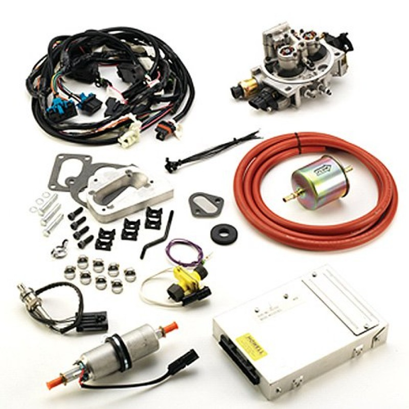 tbi fuel injection wiring harness howell fuel injection conversion tbi kit  4 barrel carb offroad  howell fuel injection conversion tbi