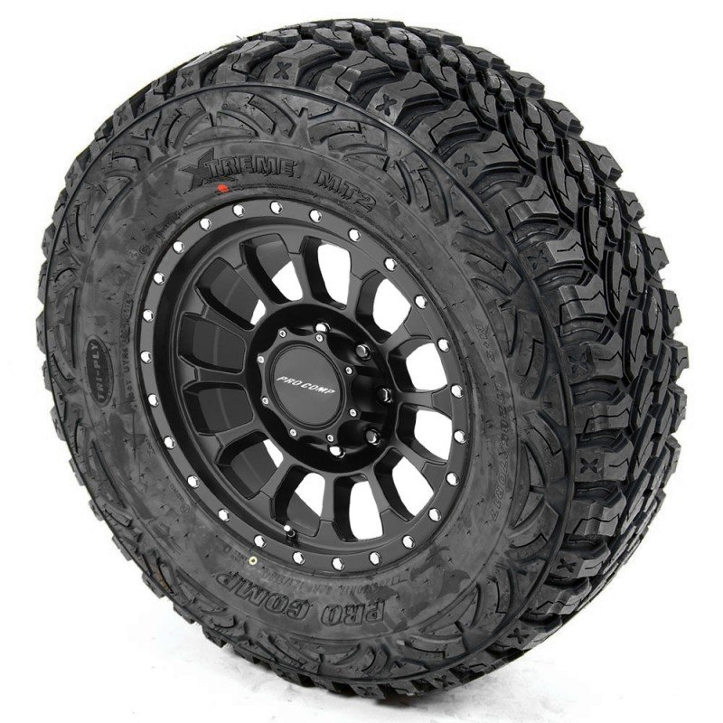 Pro Comp Xtreme Mt2 35 Tire On Rockwell 5034 Series Alloy Wheel Best Prices Reviews At Morris 4x4