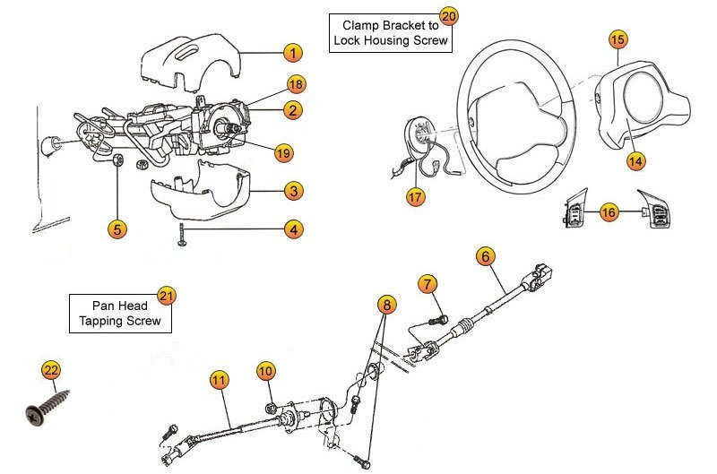 Steering Column Parts for Wrangler TJ & Wrangler Unlimited ... on 91 silverado wiring diagram, 1991 jeep cherokee fuse box diagram, ford thunderbird wiring diagram, acura tl wiring diagram, volkswagen cabriolet wiring diagram, jeep cj7 wiring-diagram, ford bronco wiring diagram, 95 jeep wiring diagram, jeep grand cherokee fuse box diagram, suzuki xl7 wiring diagram, volkswagen golf wiring diagram, cadillac xlr wiring diagram, 2007 jeep liberty wiring diagram, jeep to chevy wiring harness, jeep wrangler, jeep jk wiring harness, chevrolet impala wiring diagram, jeep zj wiring diagram, jeep starter wiring, chrysler crossfire wiring diagram,