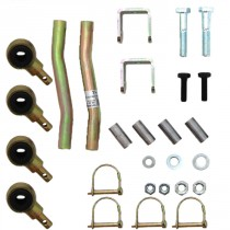 SBE525 3.5-4 Front Double Disconnect Sway Bar Extended End Link Skyjacker