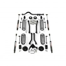 """Teraflex 3"""" Suspension Lift Kit with Sport Flexarms, Track Bar and VSS 9550 Shocks - Up To 35"""" Tires"""