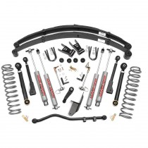 """Rough Country 6.5"""" X-Series Suspension Lift Kit with Premium N2.0 Shocks for Jeep Cherokee XJ"""