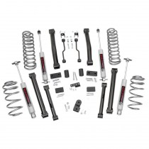 """Rough Country 4"""" Series II Suspension Lift Kit with Premium N3 Shocks for Jeep Grand Cherokee ZJ"""