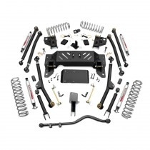 """Rough Country 4"""" X-Series Long Arm Suspension Lift Kit with Performance 2.2 Shocks for Jeep Grand Cherokee ZJ"""