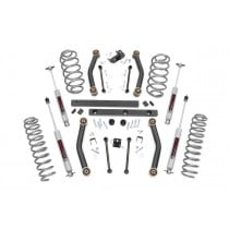 """Rough Country 4"""" Suspension Lift Kit with Premium N3 Series Shocks for Jeep Wrangler TJ"""