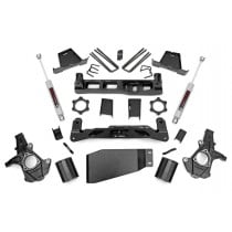 """Rough Country 7.5"""" Suspension Lift Kit with Premium N3 Series Rear Shocks - 07-13 Chevy/GMC 1500 4WD"""