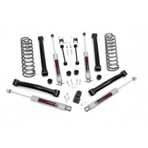 """Rough Country 3.5"""" Suspension Lift Kit with Premium N3 Shocks for Jeep Grand Cherokee ZJ"""