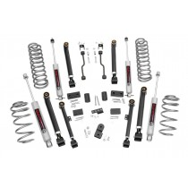 """Rough Country 4"""" X-Series Suspension Lift Kit with Premium N3 Shocks for Jeep Grand Cherokee ZJ"""